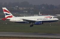 G-EUPK @ EDDL - British Airways, Airbus A319-131, CN: 1236 - by Air-Micha