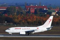 TS-IOK @ EDDP - Arrival from Enfidha/Tunesia in front of  beautiful colors of fall...... - by Holger Zengler