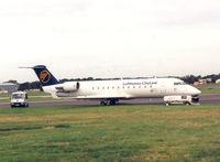 C-GVRJ @ FAB - Farnborough Air Show September '92  Lufthansa Cityline Regional Jet. - by Henk Geerlings