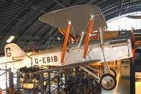 G-EBIB - Displayed at The Science Museum , Kensington , London