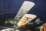 G-AAAH - Amy Johnson's DH60G Gipsy Moth Displayed at The Science Museum , Kensington , London