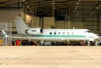 5N-BOD @ EGGW - Gulfstream Aerospace G-IV, c/n: 1126 at Luton - by Terry Fletcher