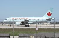 C-FYNS @ MIA - Air Canada A319 - by Florida Metal
