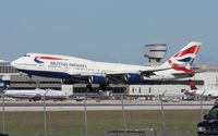 G-CIVB @ MIA - British 747