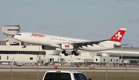 HB-JHE @ MIA - Swiss A330