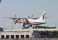 N417AT @ MIA - Eagle ATR 72