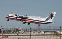 N429AT @ MIA - Eagle ATR 72