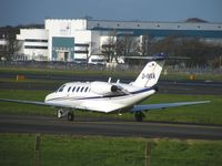 D-IVVA @ EGPK - Shortly after arrival at Prestwick November 10th 2011 - by Ian Woodcock