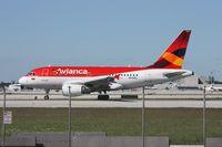 N591EL @ MIA - Avianca A318