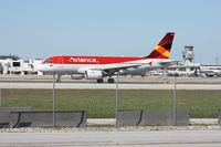 N618MX @ MIA - Avianca A319