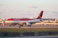 N969AV @ MIA - Avianca A330
