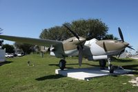 P38REPLICA @ MIA - P-38 in front of 94th Aero Squadron