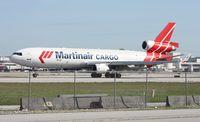 PH-MCW @ MIA - Martinair Cargo MD-11