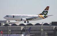 VP-CKW @ MIA - Cayman Airways 737