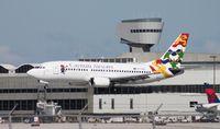 VP-CKZ @ MIA - Cayman 737