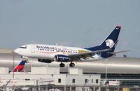 XA-MAH @ MIA - Aeromexico Visa Card - by Florida Metal