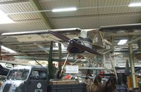 D-EMYZ - Morane-Saulnier MS.500 Criquet (postwar french built Fieseler Fi 156 Storch) at the Auto & Technik Museum, Sinsheim - by Ingo Warnecke