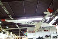 D-9187 - Schleicher Ka-4 Rhönlerche II at the Auto & Technik Museum, Sinsheim