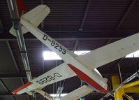D-8299 - Scheibe Bergfalke II/55 at the Auto & Technik Museum, Sinsheim