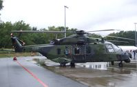 79 25 @ EDDK - NH Industries NH90 TTH of the Luftwaffe at the DLR 2011 air and space day on the side of Cologne airport