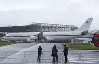 16 01 @ EDDK - Airbus A340 of the Luftwaffe at the DLR 2011 air and space day on the side of Cologne airport