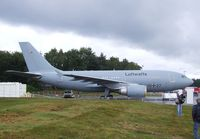 10 27 - Airbus A310 MRTT of the Luftwaffe at the DLR 2011 air and space day on the side of Cologne airport