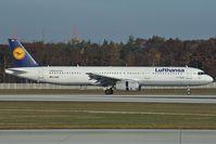 D-AISF @ EDDF - Lufthansa Airbus 321