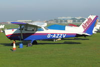G-AZZV @ EGTO - 1972 Reims Aviation Sa CESSNA F172L, c/n: 0883 at Rochester, Kent