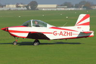 G-AZHI @ EGTO - 1971 Aero Engine Services Ltd GLOS-AIRTOURER SUPER 150, c/n: A540 at Rochester, Kent
