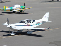N42FK @ KVCB - Participating in the Young Eagles monthly flight event.