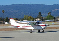 N7205Q @ KWVI - 1972 Cessna 172L taxying @ Watsonville, CA Fly-In - by Steve Nation