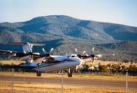 UNKNOWN @ LAM - Unknown Dash-7 departing Los Alamos, NM - by Zane Adams