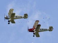D-EIIS @ LOLW - Formation Bücker Jungmann & Jungmeister - by P. Radosta - www.austrianwings.info
