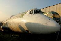 G-AZLP - Fuselage at North East Air Museum at Washington , UK