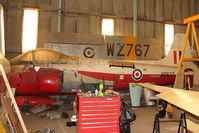 XP627 - at North East Air Museum at Washington , UK