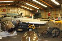 WZ518 - at North East Air Museum at Washington , UK