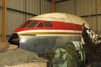 G-BEEX - Ex Egyptair Comet at North East Air Museum at Washington , UK