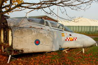 XV460 - At 2214 Sqn ATC , next to  North East Air Museum at Washington , UK - by Terry Fletcher