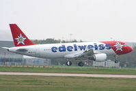 HB-IHX @ EGCC - edelweiss - by Chris Hall