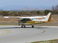 N123FC @ KPAO - KMC Aircraft (Sisters, OR) 1970 Cessna 172K ready to depart Palo Alto, CA - by Steve Nation