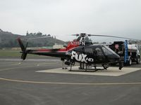 N111FN @ POC - Refueling at the westside helipads - by Helicopterfriend
