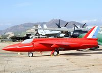 E1076 - Folland Fo-141 Gnat F1 at the March Field Air Museum, Riverside CA