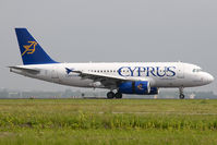 5B-DBP @ EHAM - Cyprus Airways A319 - by Andy Graf-VAP