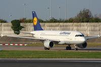 D-AILX @ EGCC - Lufthansa - by Chris Hall