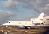 N145W @ EHAM - Falcon 900 at Schiphol-East - by Henk Geerlings