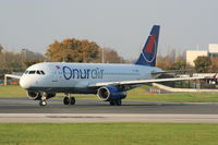 TC-OBH @ EGCC - Onurair - by Chris Hall