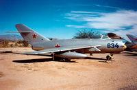 634 @ PIMA - Pima Air Museum 20.11.99 - by leo larsen