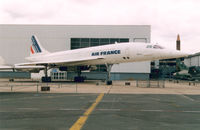 F-BTSD @ LFPB - Air France ex ,  Concorde at the Aviation Museum at LBG - by Henk Geerlings