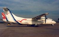 F-GEQJ @ EHEH - Regional Airlines - by Henk Geerlings