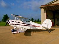 N3816F @ 69KS - in front of hangar - by rh_roberts